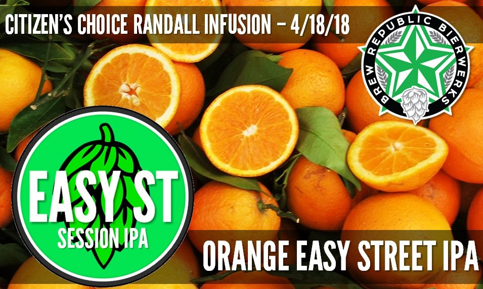 Orange Session IPA - TODAY ONLY