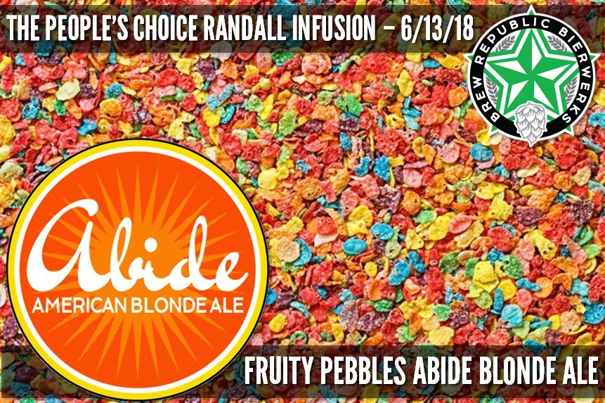 Wednesday Citizens's Choice Randall Infusion
