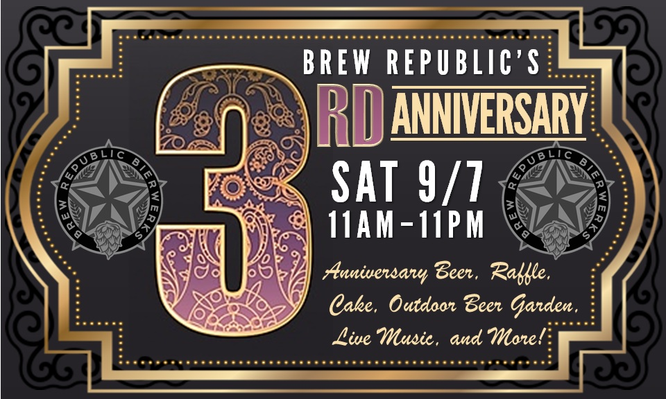 3nd Anniversary Party