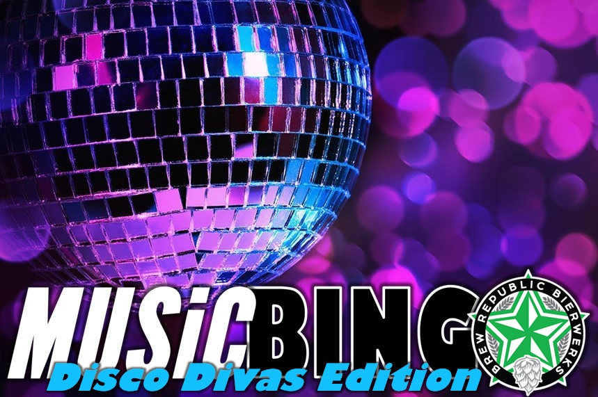 Music Bingo Wednesday!